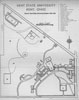Kent Campus Map 1942-1943