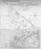 Kent Campus Map 1950-1951