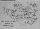 Kent Campus Map 1965