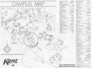 Kent Campus Map 1988