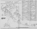 Kent Campus Map 1996-1997
