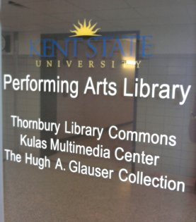 Performing Arts Library entrance