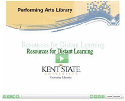 Resources for Distance Learning Video image