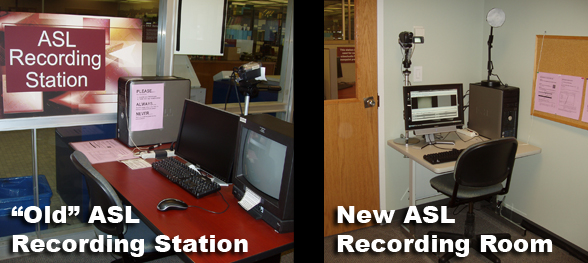 ASL Recording Stations