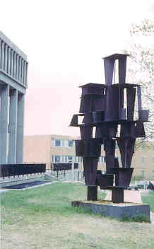 Don Drumm Sculpture photographed by Frank Smith, May 4, 1970