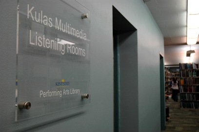 Performing Arts Library Group Listening/Viewing Rooms