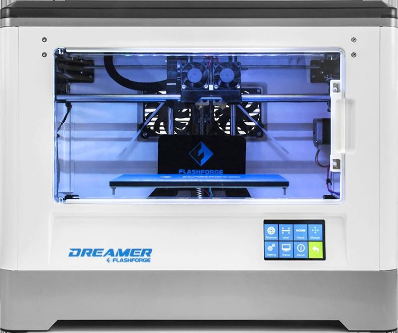 Image of the Flashforge Dreamer 3D printer