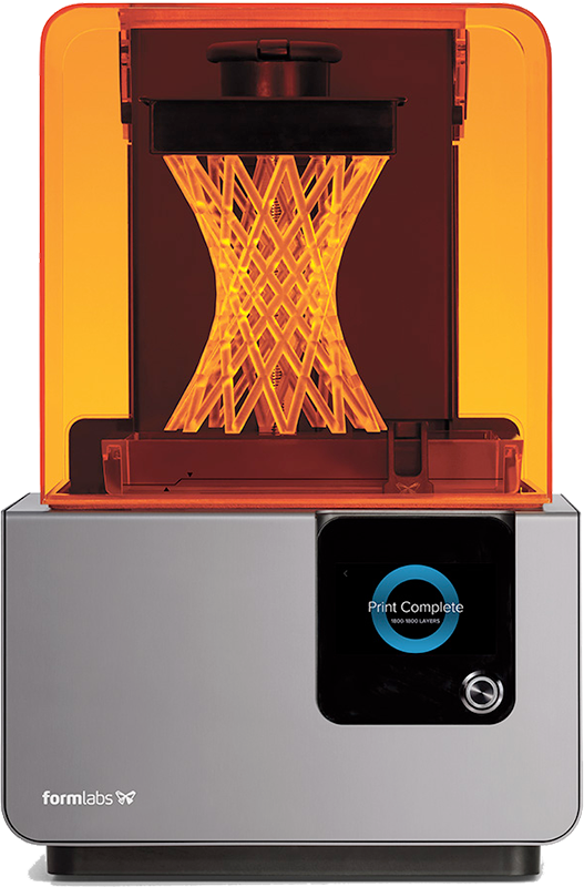 Image of the formlabs Form 2 3D printer