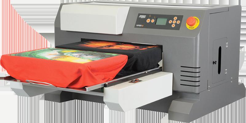 Image of the Viper garment printer