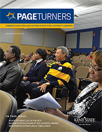 PageTurners Winter 2014 magazine cover