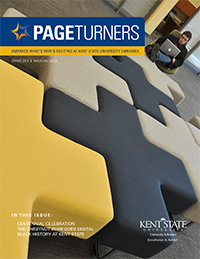 PageTurners Spring 2012 magazine cover