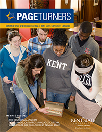 PageTurners Spring 2013 magazine cover