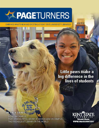 PageTurners Fall 2015 magazine cover