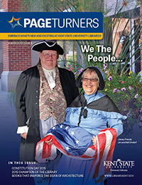 PageTurners Winter 2015 magazine cover