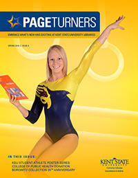 PageTurners Spring 2014 magazine cover
