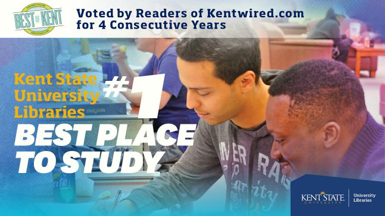 Show more about Kent State University Libraries #1 Best Place to Study