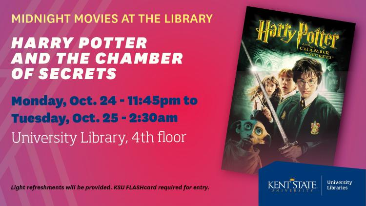 Show more about Midnight Movies at the Library - Harry Potter and the Chamber of Secrets