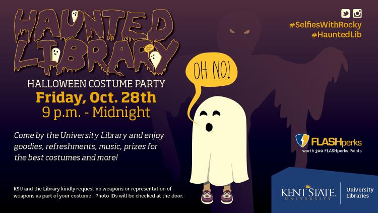 Show more about Come to the Haunted Library and enjoy goodies, refreshments, music, prizes and more!