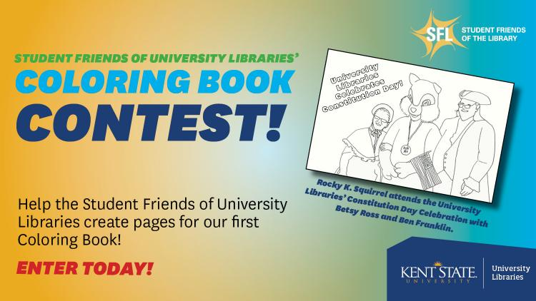 Show more about Help the Student Friends of University Libraries create pages for our first Coloring Book!