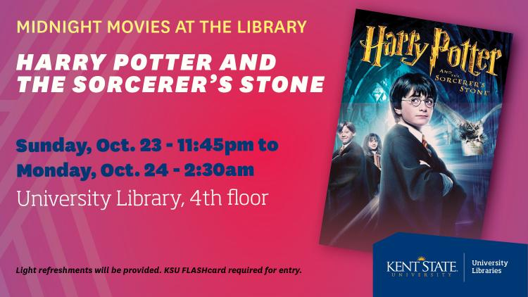 Show more about Midnight Movies at the Library - Harry Potter and the Sorcerer's Stone